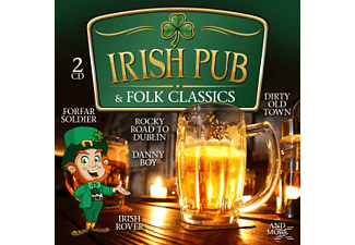 VARIOUS - Irish Pub & Folk Classics - (CD)