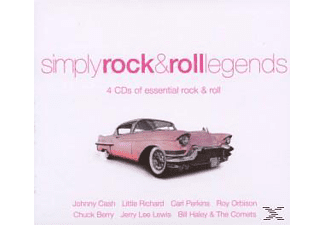 VARIOUS - Simply Rock & Roll Legends [CD]