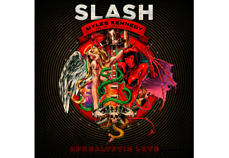 Slash;Myles Kennedy And The Conspirators - Apocalyptic Love [CD + DVD Video]