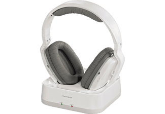THOMSON Casque audio sans fil RF Blanc (131960 WHP3311W)
