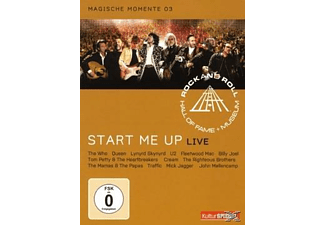 VARIOUS - RRHOF - START ME UP - (DVD)