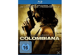 COLOMBIANA Action Blu-ray