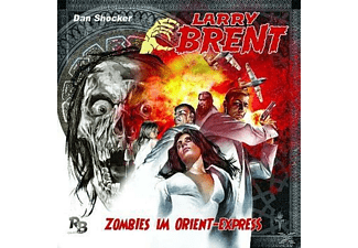 Larry Brent 02: Zombies im Orient-Express - 1 CD - Horror