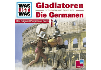 - WAS IST WAS?: Gladiatoren / Germanen - (CD)
