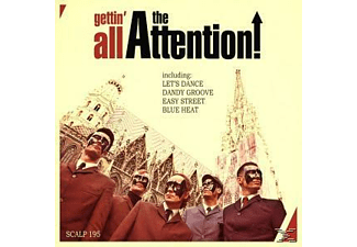 The Attention - Gettin' All The Attention [CD]