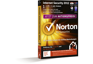 Norton Internet Security 2012 1 PC 1 Jahr Antiviren- und Datensicherungssoftware PC