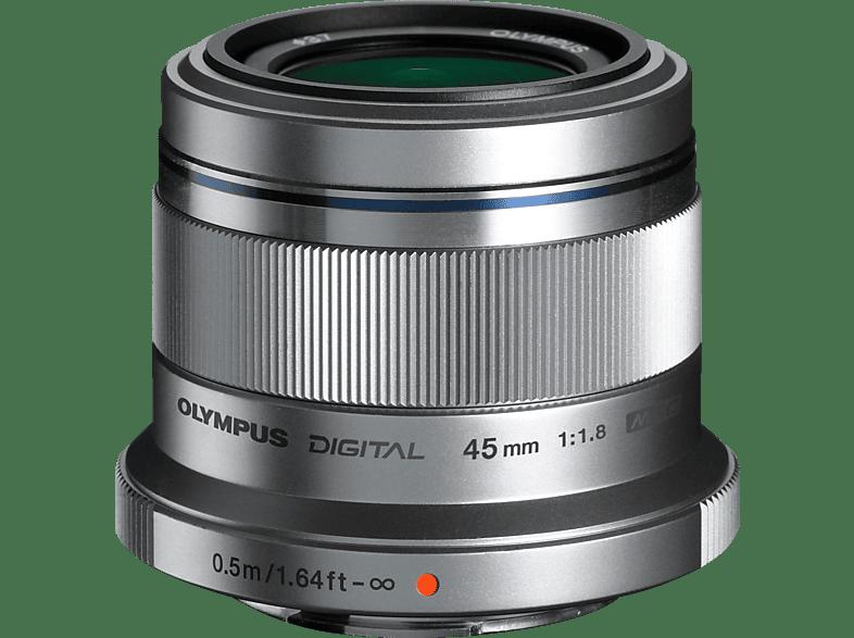 OLYMPUS M.Zuiko Digital 45mm 1:1.8 Silver - (ET-M4518) hobby   φωτογραφία φωτογραφικές μηχανές φακοί mirrorless