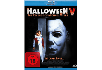 HALLOWEEN 5 - THE REVENGE OF MICHAEL MYERS - (Blu-ray)