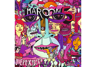 Maroon 5 Overexposed Pop CD