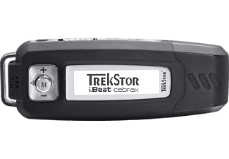 TREKSTOR 71816 i.Beat cebrax MP3 Player (4 GB, Schwarz)