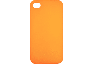 TELILEO 0211 Backcover Apple iPhone 4 Kunststoff/Polycarbonat Orange
