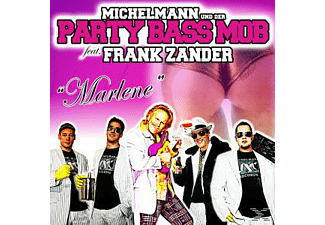 Michelmann & Der Party Bass Mob, Frank Zander, Fran Michelmann & Der Party Bass Mob Feat.zander - Marlene - (Maxi Single CD)