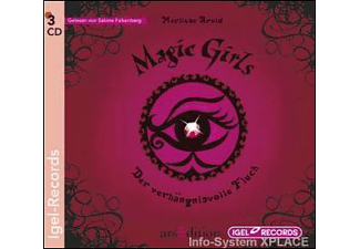Magic Girls – Der verhängnisvolle Fluch - 3 CD - Kinder/Jugend