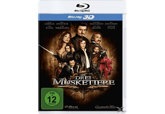 Die drei Musketiere (Single Edition) - (3D Blu-ray)