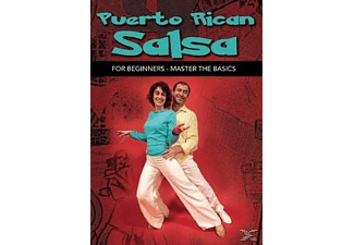 Puerto Rican Salsa for Beginners - (DVD)
