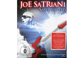 Joe Satriani - SATCHURATED - LIVE IN MONTREAL [Blu-ray]
