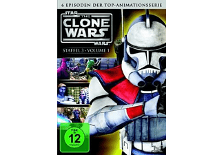 Star Wars: The Clone Wars - Staffel 3.1 [DVD]