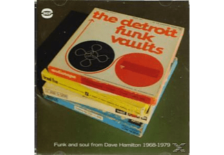 VARIOUS - Detroit Funk Vaults-Ghetto Funk And Soul From Davi - (CD)