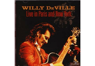Willy Deville - Live In Paris And New York [CD]