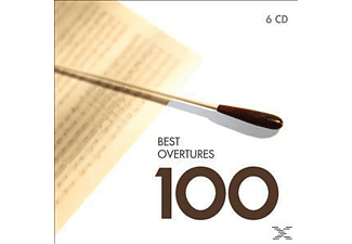 Various - Best Overtures & Preludes 100 [CD]
