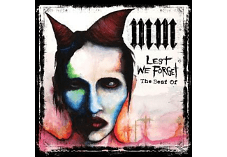 Marilyn Manson The Best of Lest we Forget Heavy Metal CD