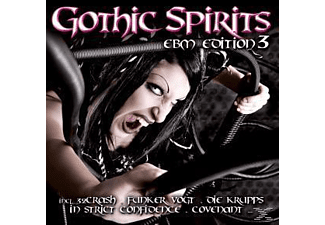 VARIOUS - Gothic Spirits Ebm Edition 3 - (CD)