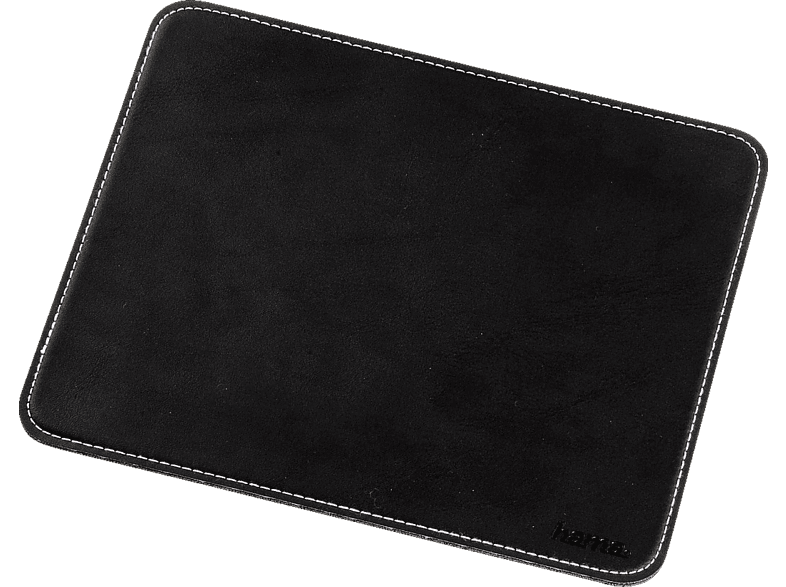 HAMA 54745 Mouse Pad with Leather Look, Black computing   tablets   offline αξεσουάρ υπολογιστών άλλα αξεσουάρ laptop  tablet