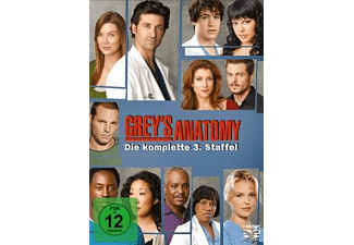 Grey's Anatomy - Staffel 3 Drama DVD