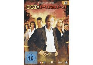 CSI: Miami - Staffel 2 (komplett) [DVD]