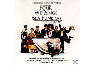 VARIOUS, OST/VARIOUS - Four Weddings And A Funeral [CD]
