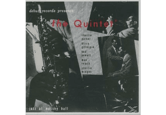 Charlie Parker, Bud Powell, Max Roach, Dizzy Gillespie, Charles Mingus - THE QUINTET - JAZZ AT MASSEY HALL (OJC REMASTERS) [CD]