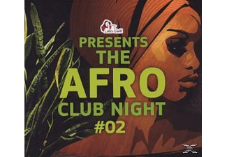 VARIOUS - The Afro Club Night #02 - (CD)