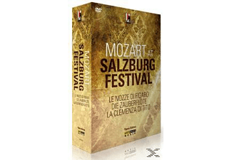 VARIOUS - Mozart At Salzburg Festival - (DVD)