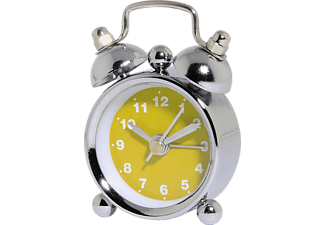 "HAMA 113926 ""Nostalgia"" Alarm Clock, mini, Yellow"