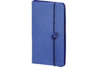 "HAMA ""Felt"" CD/DVD/Blu-ray Wallet 48 Βlue - (95677)"