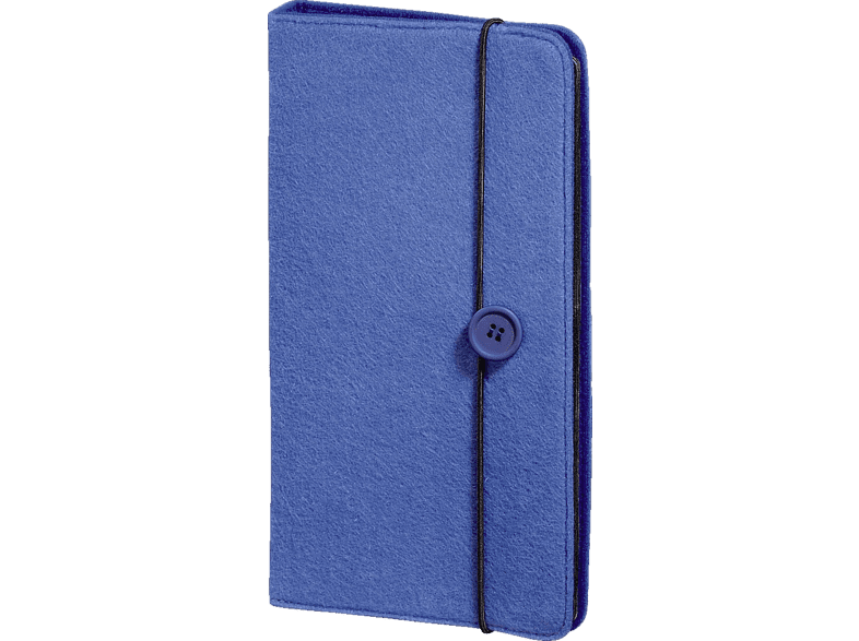"HAMA """"Felt"""" CD/DVD/Blu-ray Wallet 48 Βlue - (95677) laptop  tablet  computing  αποθήκευση δεδομένων cd  dvd  blu ray αξεσουάρ θήκες"