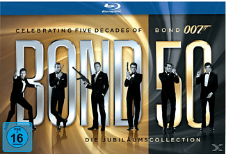 James Bond - Bond 50: Die Jubiläums-Collection TV-Serie/Serien Blu-ray