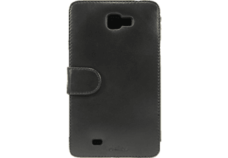 TELILEO 0964 Touch Case, Echtledertasche, Galaxy Note, Schwarz