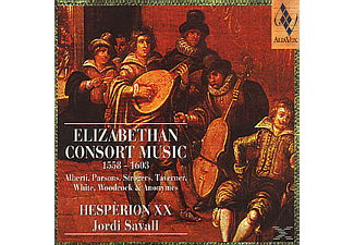 Hespérion XX - ELIZABETHAN CONSORT MUSIC - (CD)