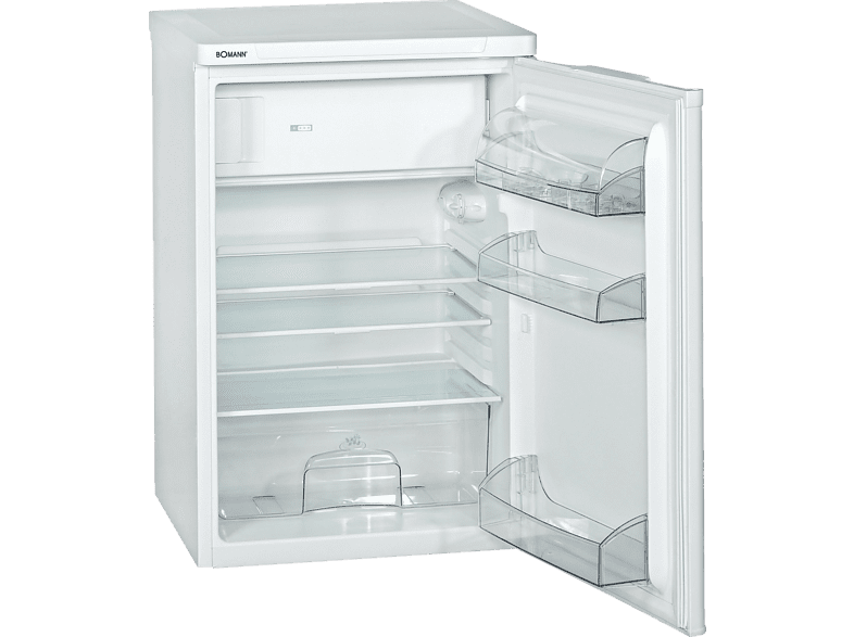 BOMANN KS 197 weiß Freistehende Kühlschränke - MediaMarkt