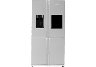 BLOMBERG KQD 1360 X A++ Side-by-Side (355 kWh/Jahr, A++, 1820 mm hoch, Edelstahl Fingerprint Free)