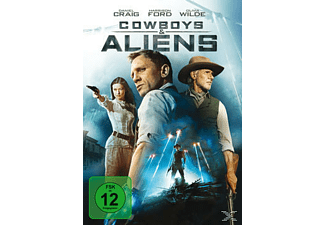 Cowboys + Aliens Western DVD