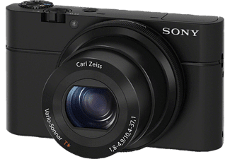 SONY Cyber-shot DSC-RX100 I Kompaktkamera, 20.2 Megapixel, 3.6x opt. Zoom, Full HD, Exmor CMOS Sensor, 28-100 mm Brennweite, Autofokus, Schwarz