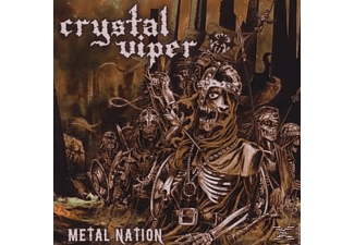 Crystal Viper - Metal Nation (Re-Release) [CD]