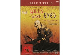 The Hills Have Eyes Teil 1 - 2 - 3 [DVD]