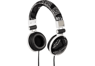 "HAMA ""Print"" On-Ear Stereo Headphones, Black/White - (93047)"