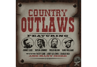 Various - Country Outlaws (Limited Metalbox Edition) [CD]