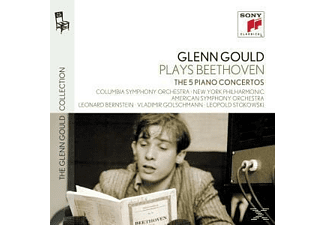 Various Composers, Glenn Gould, Various Conductors - The 5 Piano Concertos [CD]