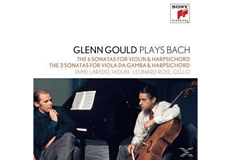 Glenn Gould, Jaime Laredo, Leonard Rose - Glenn Gould Plays Bach - Glen Gould Collection Vol. 7 [CD]