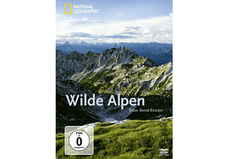 National Geographic: Wilde Alpen - Bernd Ritschel - (Blu-ray)